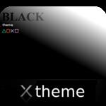 Black theme for XPERIA icon