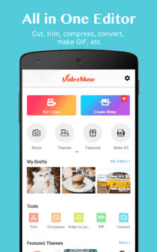 VideoShow-Video Editor, Video Maker, Beauty Camera APK screenshot 1