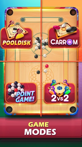 Carrom Friends : Carrom Board Game APK screenshot 1