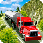 Offroad Oil Tanker Transport Truck Driver 2018 icon