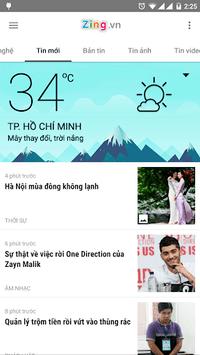 Zing.vn - Vietnam Daily News APK screenshot 1
