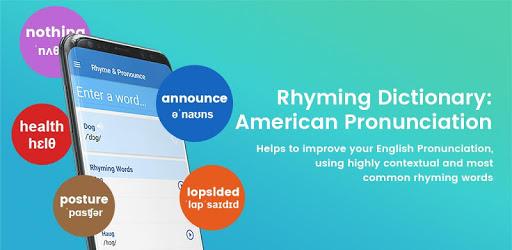 Rhyming Dictionary: American Pronunciation pc screenshot