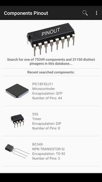 Electronic Component Pinouts Free APK screenshot 1