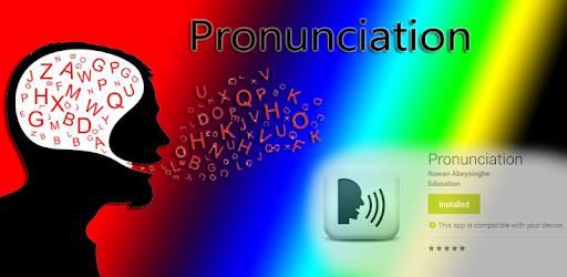 Pronunciation - Say it - Learn it pc screenshot