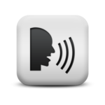 Pronunciation - Say it - Learn it icon