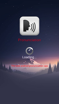 Pronunciation - Say it - Learn it APK screenshot 1