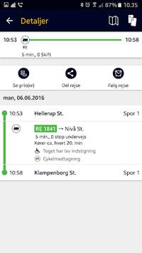 Rejseplanen APK screenshot 1