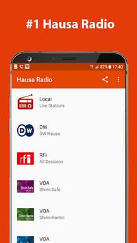 Hausa Radio APK screenshot 1