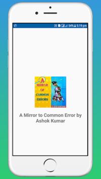 A Mirror of Common Error by Ashok Kumar OFFLINE APK screenshot 1