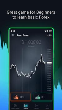 Forex Game - Online Stocks Trading For Beginners screenshot 1