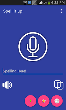 Spell and Pronounce Words Right APK screenshot 1
