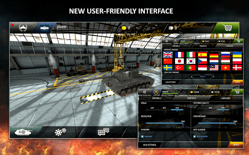 Tanktastic 3D tanks APK screenshot 1