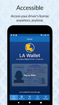 LA Wallet APK screenshot 1
