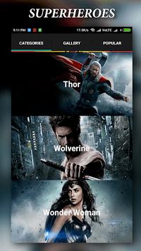 Superheroes Wallpapers | 4K Backgrounds APK screenshot 1