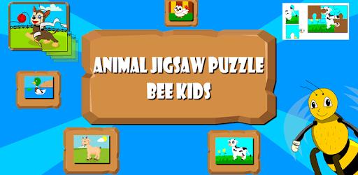 Kids Animals Jigsaw puzzle  : Little Bee pc screenshot