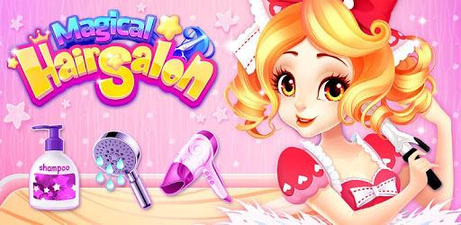 Magical Hair Salon: Girl Makeover pc screenshot