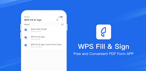 WPS Fill & Sign pc screenshot