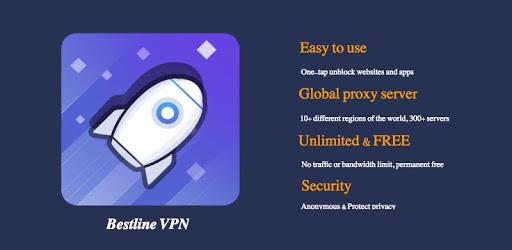 Bestline VPN - Free & Fast & Unlimited & Unblock pc screenshot