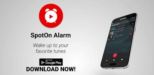 SpotOn alarm clock for YouTube pc screenshot