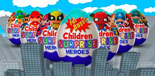 Surprise Eggs Superheroes pc screenshot