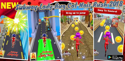 Subway Lady Bug Cat Noir Rush 2019 pc screenshot