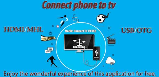 Connector Tv ( usb-otg-hdmi-mhl-connect phone ) pc screenshot