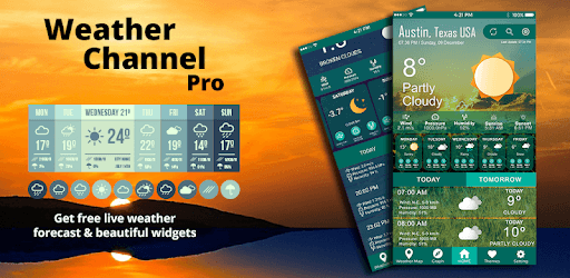weather channel free weather forecast app  u0026 widget for pc