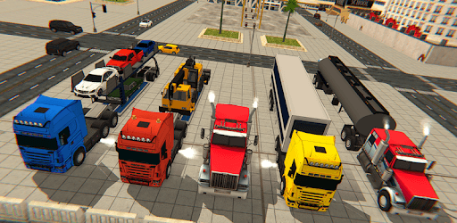 Cargo Delivery Truck Parking Simulator Games 2018 pc screenshot