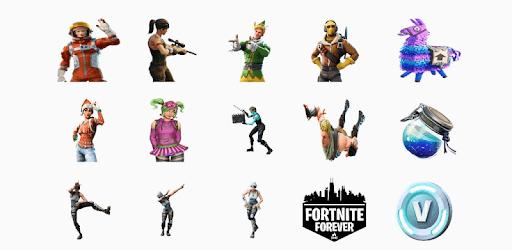 WAStickerApps - Fortnite Stickers pc screenshot