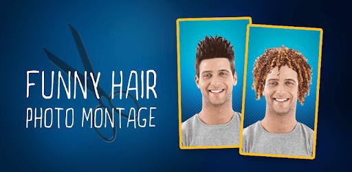 Funny Hair Photo Montage pc screenshot