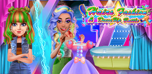 School Girl Hair Dressup Salon pc screenshot