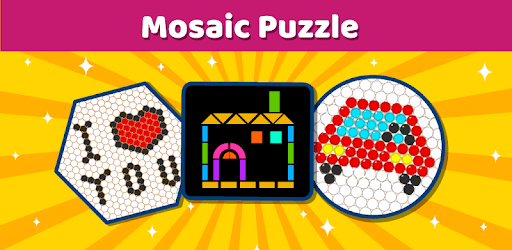 Mosaic Puzzles Art Game - Block Beads & Hex Puzzle pc screenshot