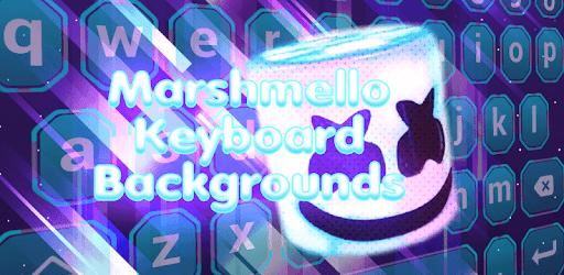 Marshmello Keyboard Backgrounds pc screenshot