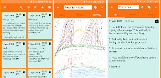 Memo - Notes pc screenshot
