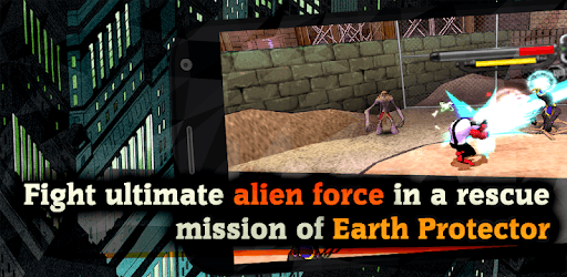 Alien Force War: Earth Protector pc screenshot