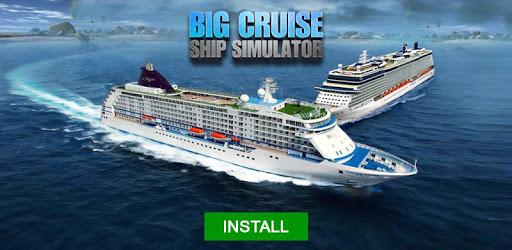 Big Cruise Ship Simulator Games : Ship Games pc screenshot