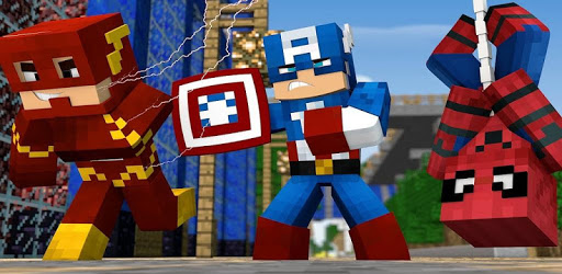 Superheroes Mods and Add-on pack for MCPE pc screenshot