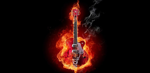 Fire And Guitar Live Wallpaper For Pc Free Download Install On