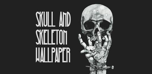 Skeleton Skull Art Wallpaper pc screenshot
