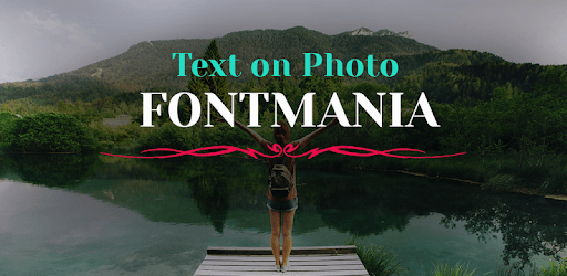 Text on Photo - Fontmania pc screenshot