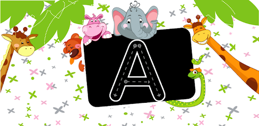 Writing the alphabet pc screenshot