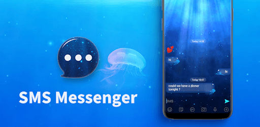 SMS Messenger - Ocean & Sea Theme pc screenshot