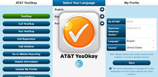 AT&T YesOkay (Int'l) pc screenshot