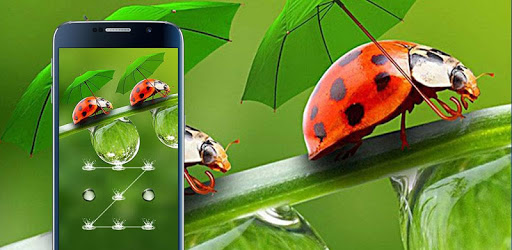 Raindrop Theme – AppLock pc screenshot