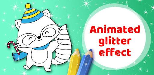 Animated Christmas Coloring Book pc screenshot