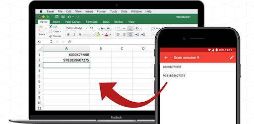 Barcode to PC: Wi-Fi scanner pc screenshot