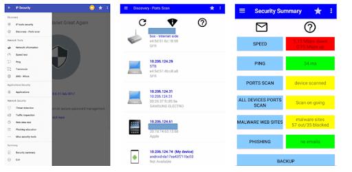 IP Tools + security pc screenshot