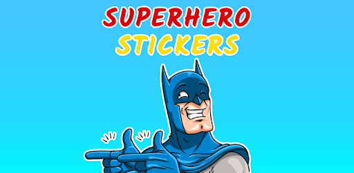 Superhero Stickers for WhatsApp - WAStickerApps pc screenshot