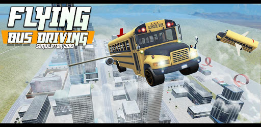 Flying Bus Driving simulator 2019: Free Bus Games pc screenshot