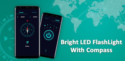 Compass & Super Bright Flashlight pc screenshot